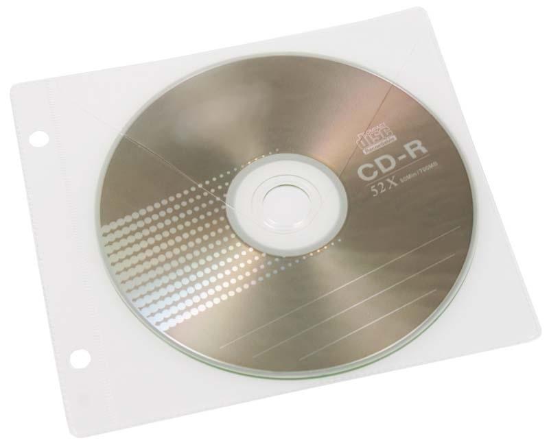 KOSZULKA BIURFOL NA 1 CD DO SEGREGATORA 10SZT