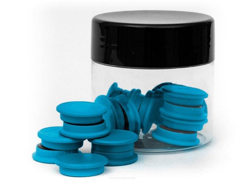 TRES Magnes 20 mm standard niebieski 20szt