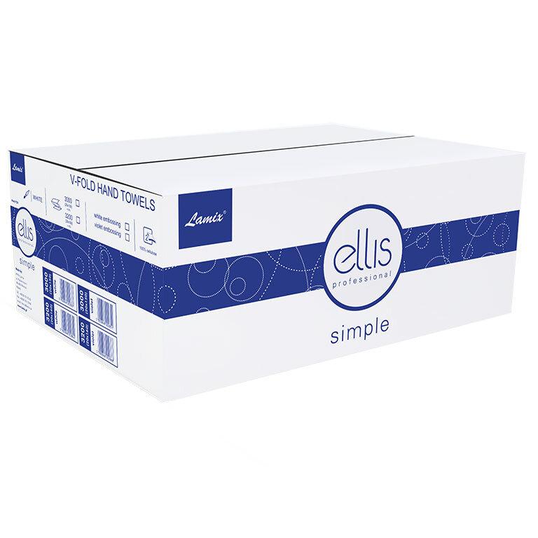 ZZ ELLIS PROFESIONAL biały celuloza 2w 150listków