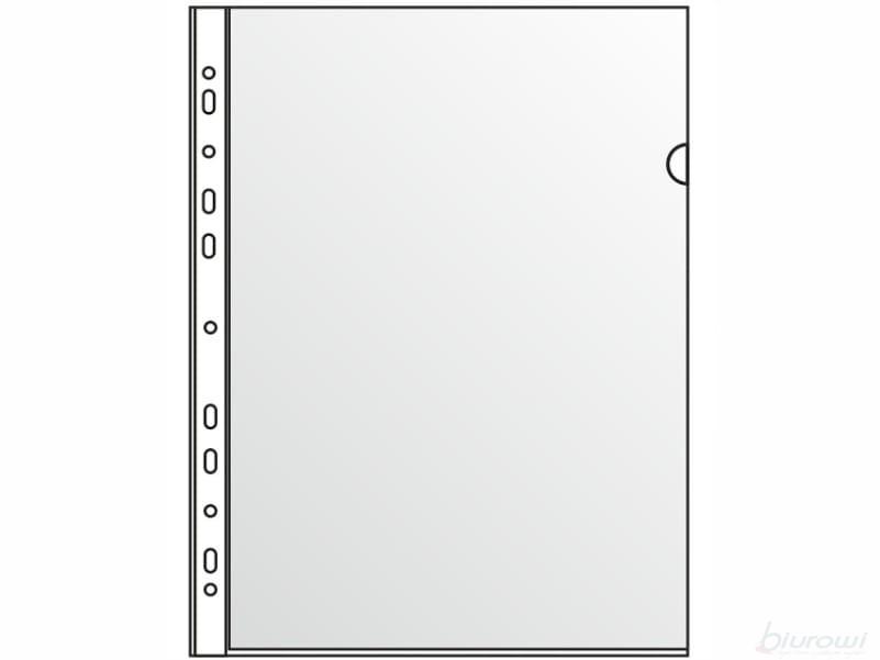 TRES Folder L A4 ( 200 mic)  PCV  Z EUROPERFORACJĄ