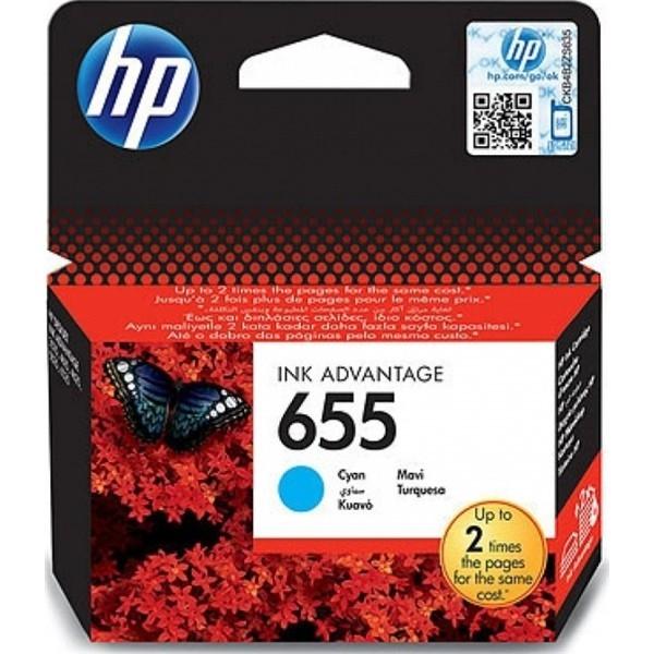 HP Tusz CZ110AE Nr655 Cyan