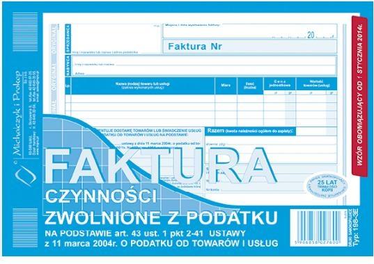D FAKTURA A5 2SKŁ.198-3E
