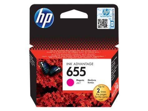HP Tusz CZ111AE Nr655 Magenta