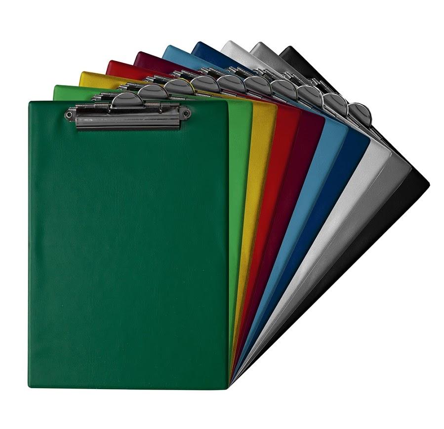 TRES Clipboard deska A4  ciemny zielony