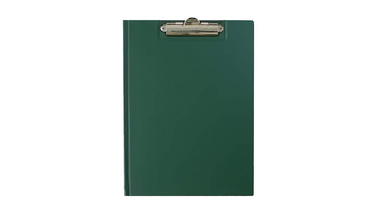 TRES Clipboard teczka A4 ciemny  zielony