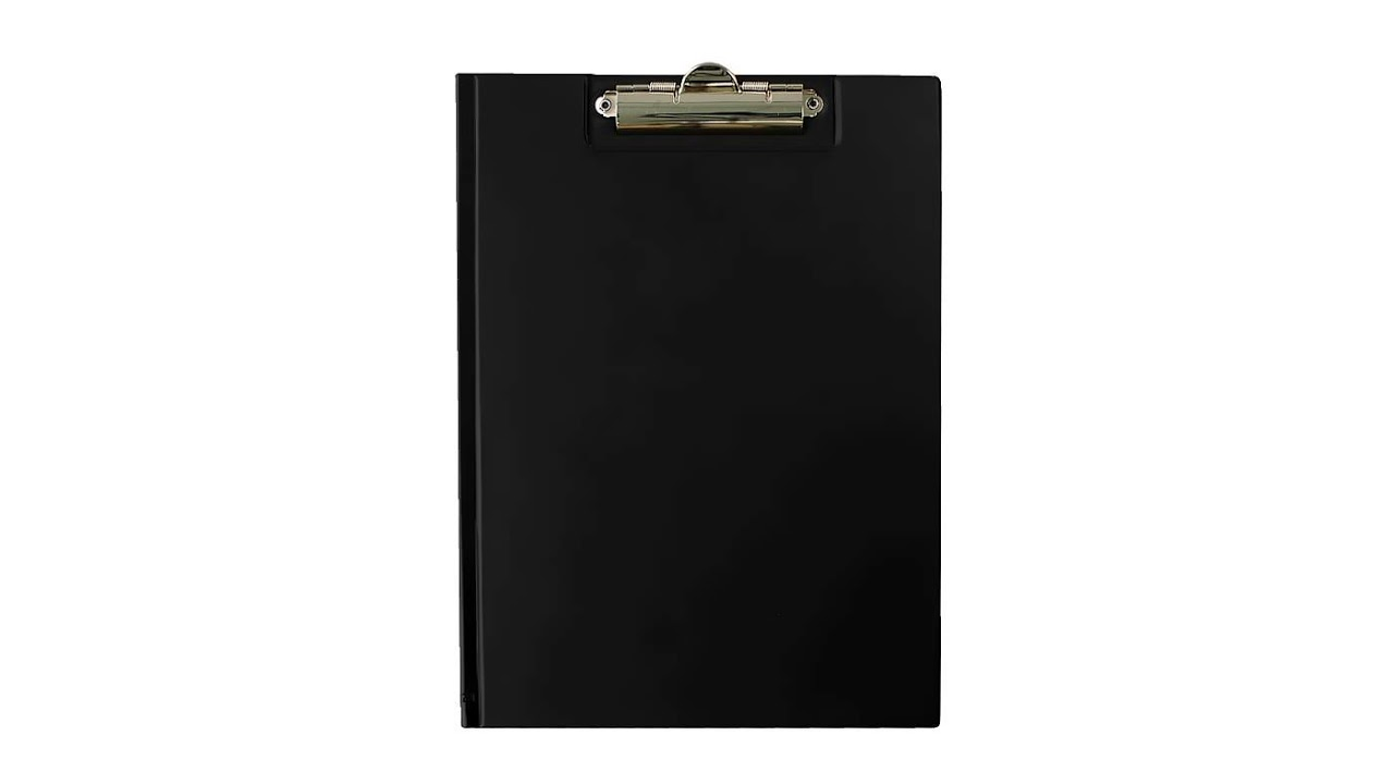 TRES Clipboard teczka A4 czarny
