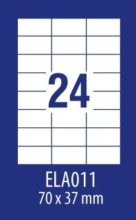 ETYKIETA AVERY ECONOMY ELA 70X37,1 100A